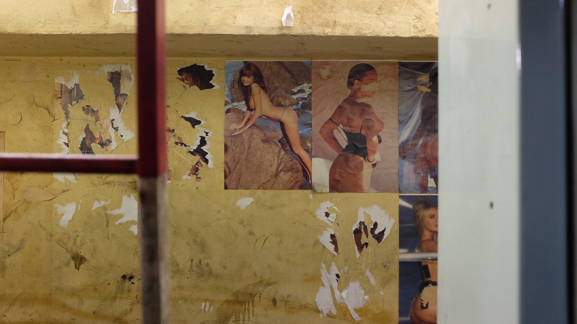 Sur les murs de la Marseillaise. © Laurent Carte